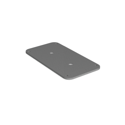 Mounting plate, flat - Small, POI P/Q/i-series