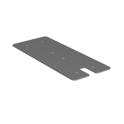 Mounting plate, flat - Large, POI P/Q/i-series