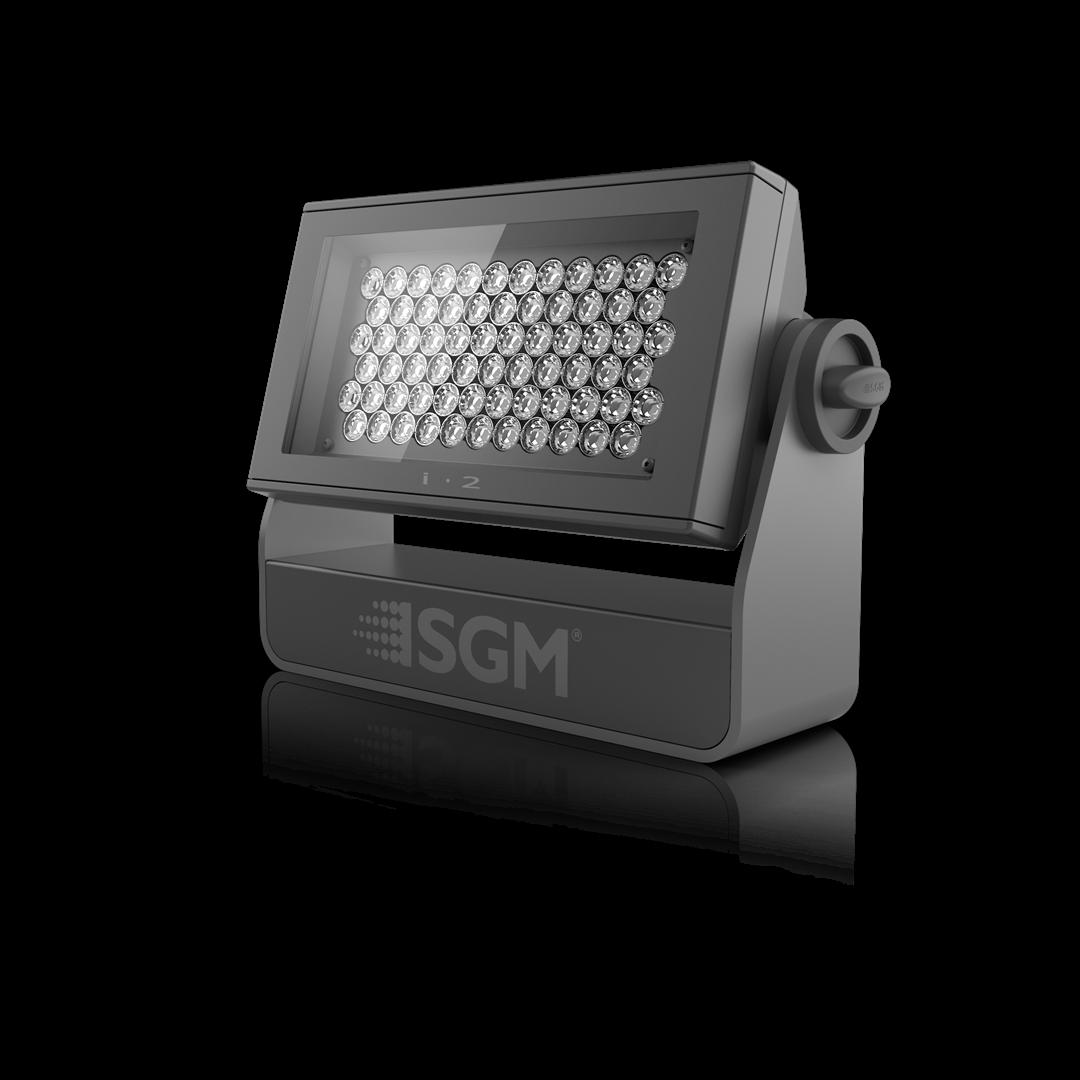 i-2 W l 5700K White LED Wash Light from SGM Light