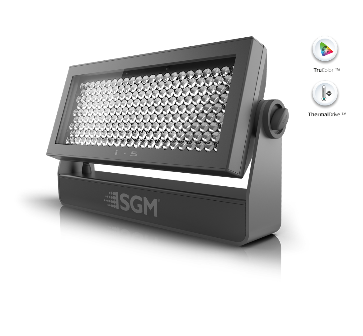 I 5 Green L Ip65 Rated Green Led Wash From Sgm Light