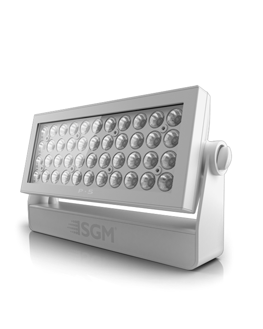 P 5 L Reputed Rgbw Led Wash Light From Sgm Dmx Pin Wiring White Ral 9010