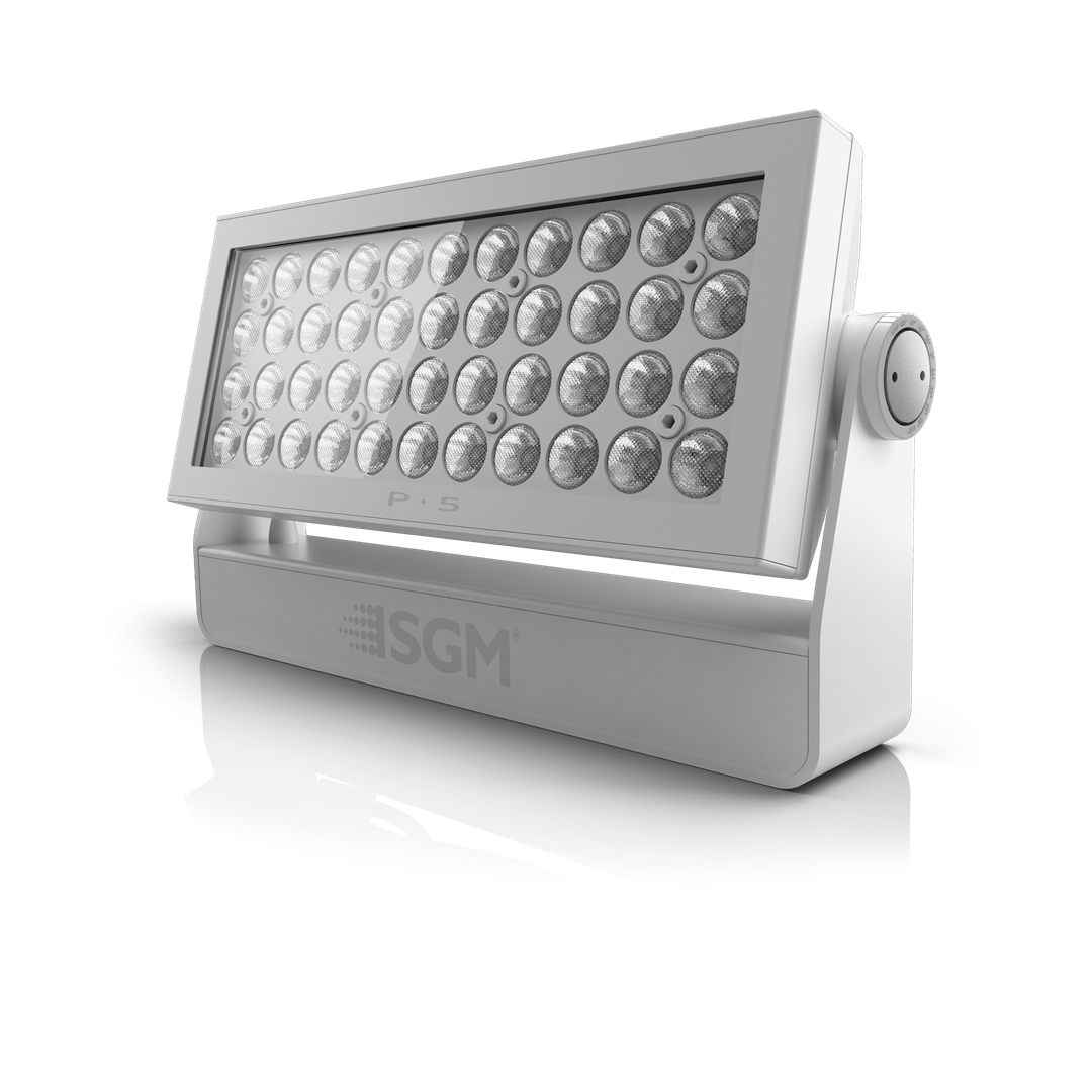 P 5 Poi L Ip66 Rated Rgbw Led Flood From Sgm Light 10w Wiring Diagram Housing Colors